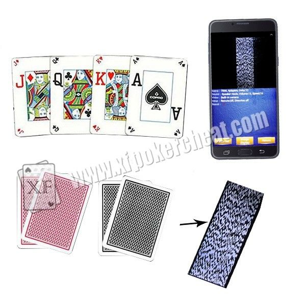 Belgium Copag Plastic Marked Poker Cards For Entertainment / Private party