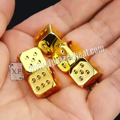 Regular Size Casino Magic Dice / Trick Permanent Numbers Dice For Private Game